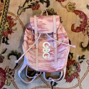 G by Guess Bags - G by Guess: Pink Army Print Backpack